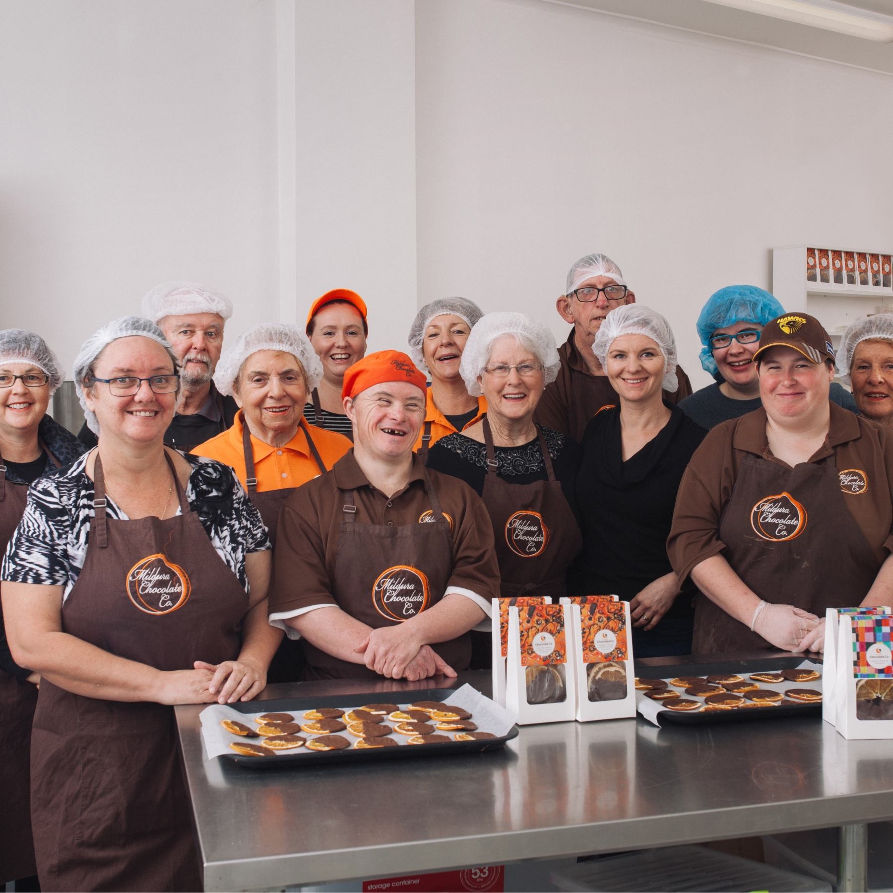 Mildura Chocolate Company are a chocolate manufacturing co-op in Mildura, Victoria
