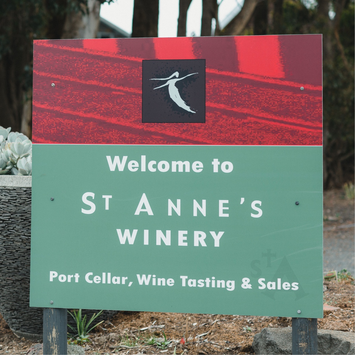 St Anne's Vineyard is a state of the art wine maker in Myrniong Victoria