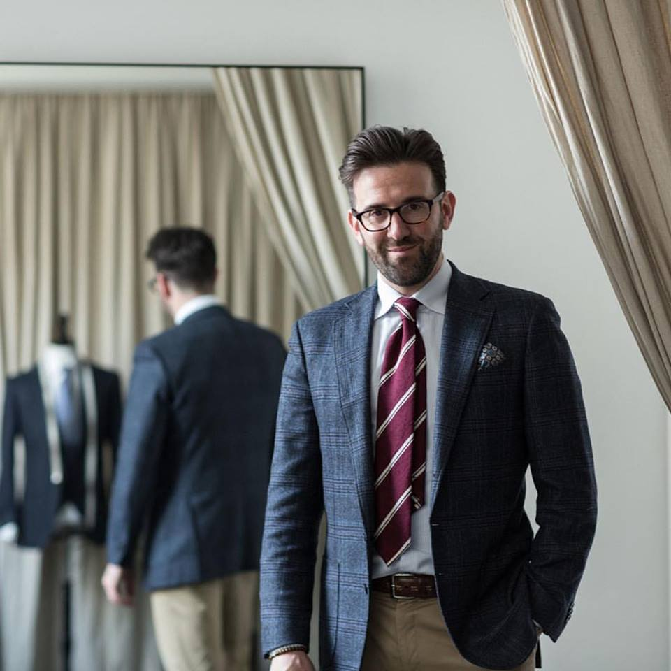 Carl Nave tailored